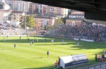 Calcio, una partita allo stadio Viviani di Potenza